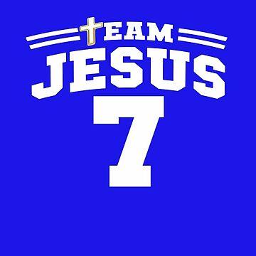 TEAM JESUS SPORT T-SHIRT by Tim-Forder