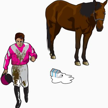 Get your Spilled Milk Back Up On Your Horse by Pavatron
