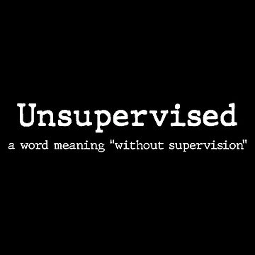 UNSUPERVISED by wexler