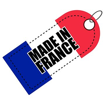 Made in France Flag of France tricolour - Gift Idea by vicoli-shirts