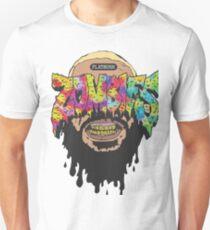 Camiseta unisex Sonrie zombies