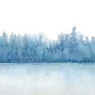 Snowy Landscape by Linda Ursin