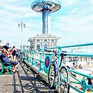 The Promenade Brighton Seafront by Dorothy Berry-Lound