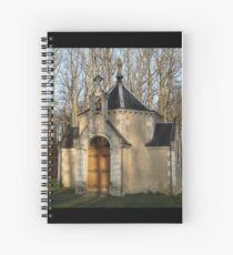 Church or Crypt?, Montresor, Loire Valley, France 2012 Spiral Notebook