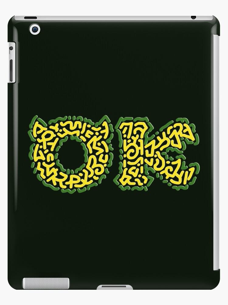 Ok Logo Oozma Kappa Monsters University Ipad Case Skin By Karotene Redbubble