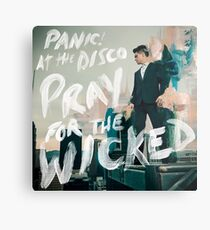 panic pray for the at wicked tour 2019 disco lampungtv Metal Print