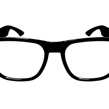 Hipster (or nerd) glasses by bjarnibragason
