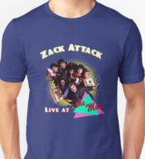 Zack Attack Live at the max  Unisex T-Shirt