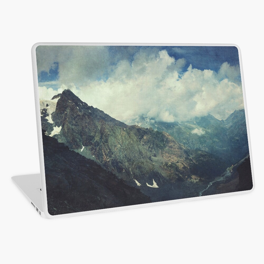 Valley and Mountains - Lombardia Italy Laptop Skin