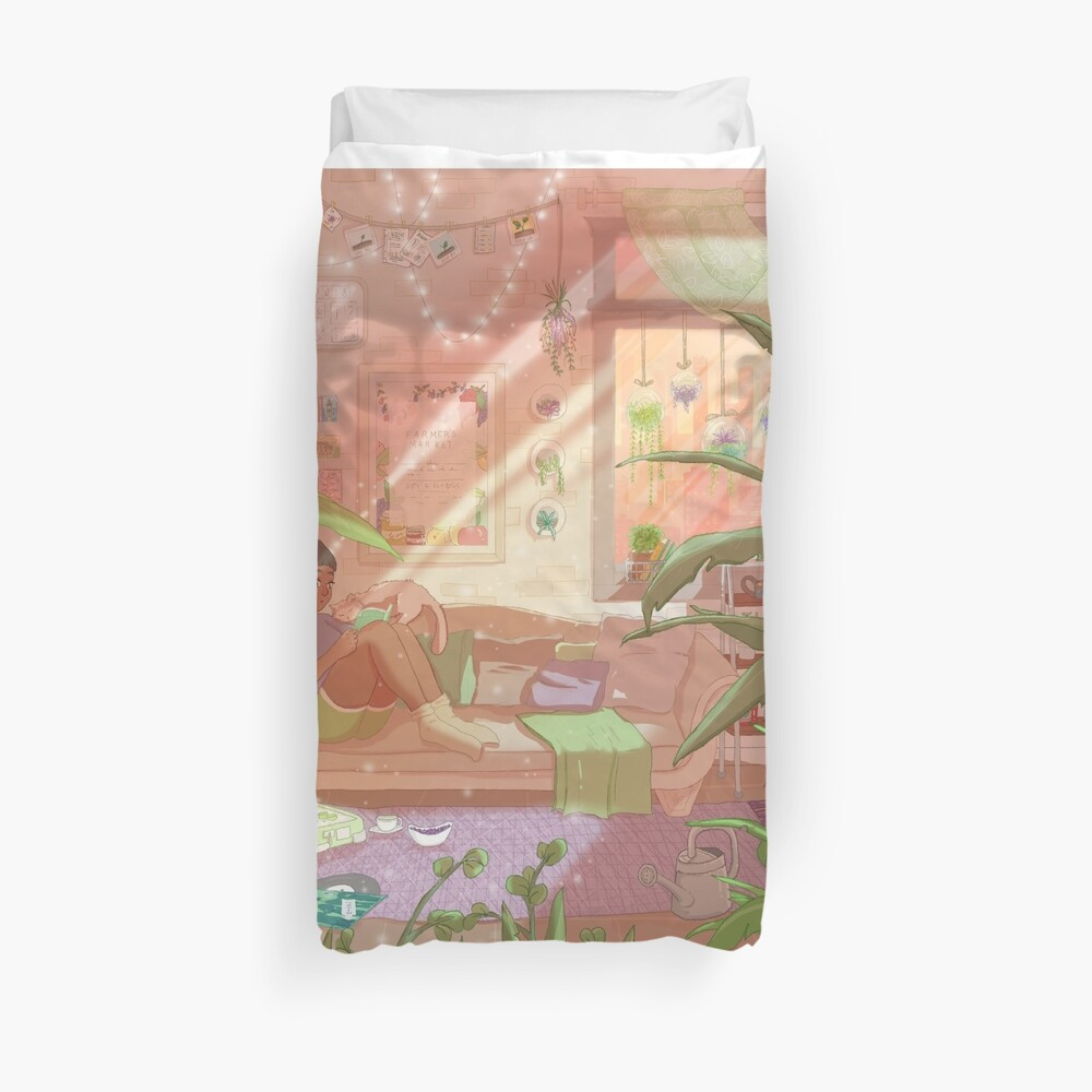 Concrete Jungle Duvet Cover