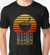 Camiseta ajustada Ramen Life Japanese Noodles Lover Estilo retro vintage