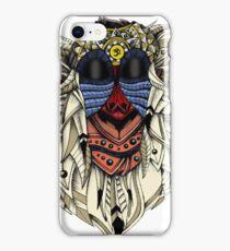 Ornate Color Rafiki iPhone Case/Skin