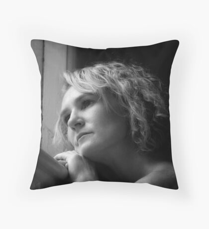 Using Available Light Throw Pillow