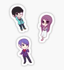 Tokyo Ghoul Chibi Character Stickers - Part 1 Sticker