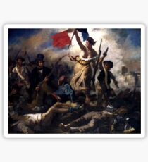 Liberty Leading The People -- French Revolution Sticker