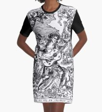 Luis de Milan - El Maestro Front Piece Graphic T-Shirt Dress