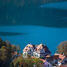 Germany. Bavaria. Schwangau. Lake. by vadim19