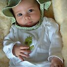 My Sarah in Froggie outfit by Marjorie Wallace