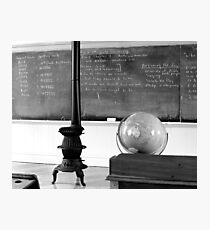 Amish classroom in Lancaster County, Pa Photographic Print