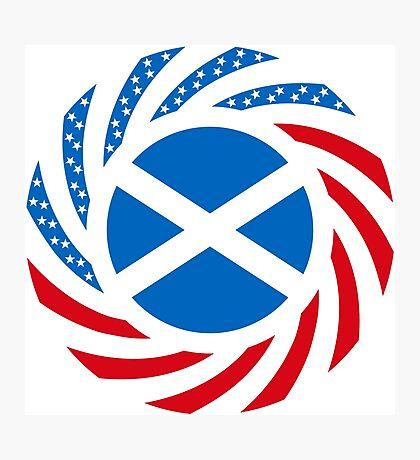Scottish American Multinational Patriot Flag Series Photographic Print
