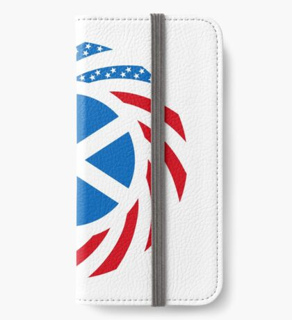 Scottish American Multinational Patriot Flag Series iPhone Wallet