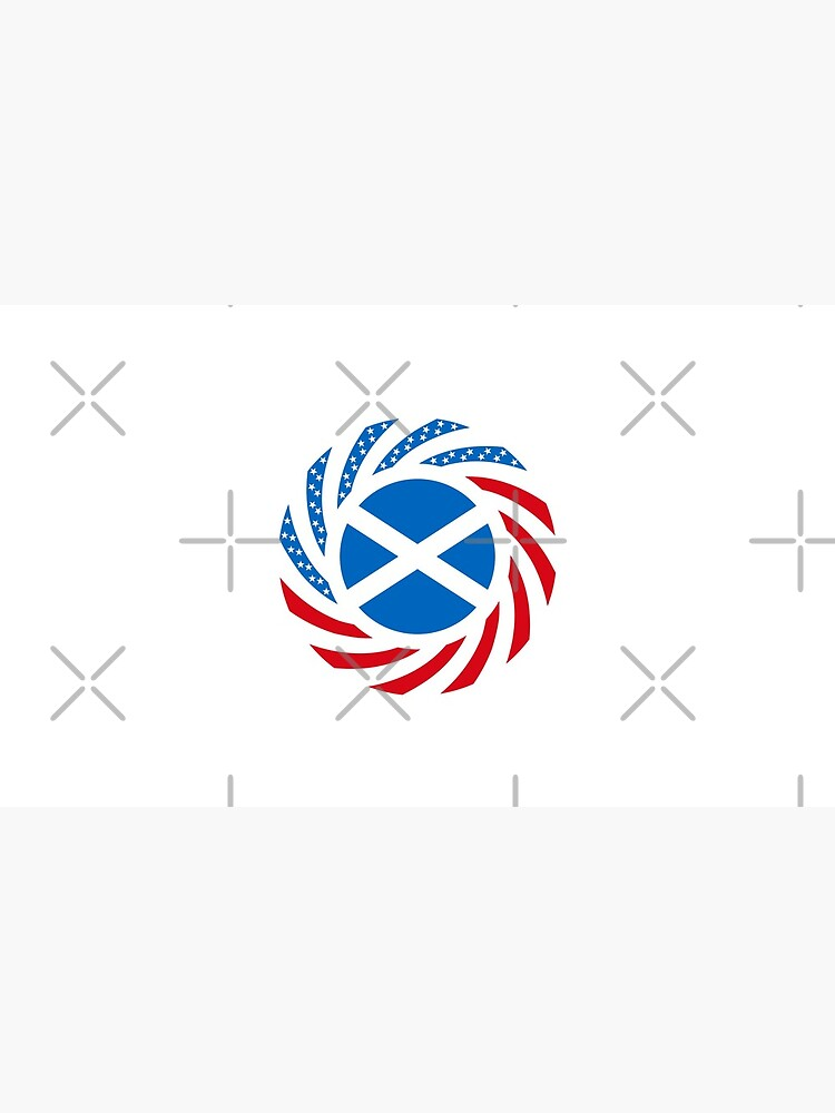 Scottish American Multinational Patriot Flag Series by carbonfibreme