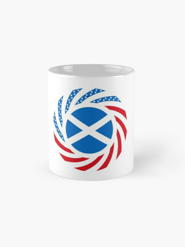 Alternate view of Scottish American Multinational Patriot Flag Series Mug