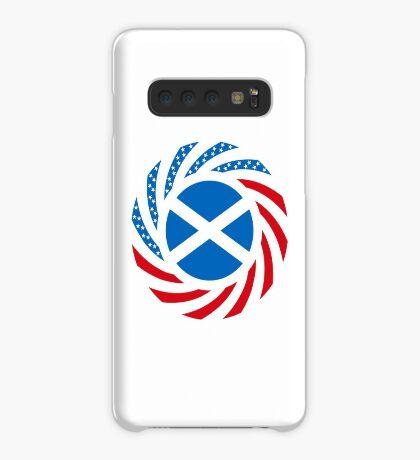 Scottish American Multinational Patriot Flag Series Case/Skin for Samsung Galaxy