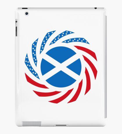 Scottish American Multinational Patriot Flag Series iPad Case/Skin