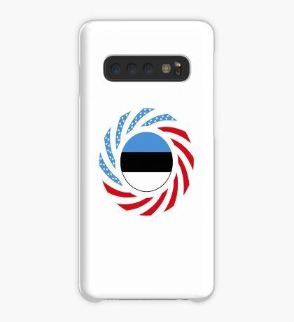 Estonian American Multinational Patriot Flag Series Case/Skin for Samsung Galaxy