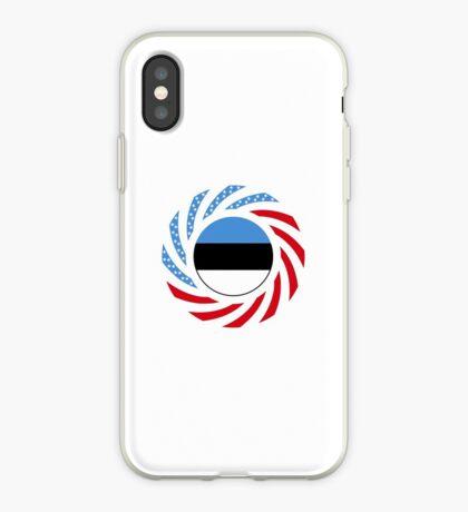 Estonian American Multinational Patriot Flag Series iPhone Case