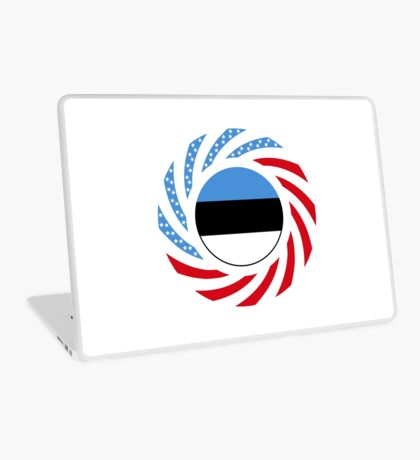 Estonian American Multinational Patriot Flag Series Laptop Skin