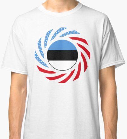 Estonian American Multinational Patriot Flag Series Classic T-Shirt