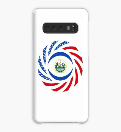 Salvadoran American Multinational Patriot Flag Series Case/Skin for Samsung Galaxy