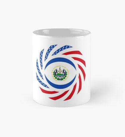 Salvadoran American Multinational Patriot Flag Series Mug