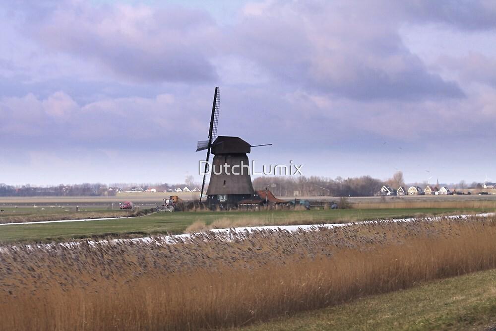 Wind Mill at Schermerhorn  by DutchLumix