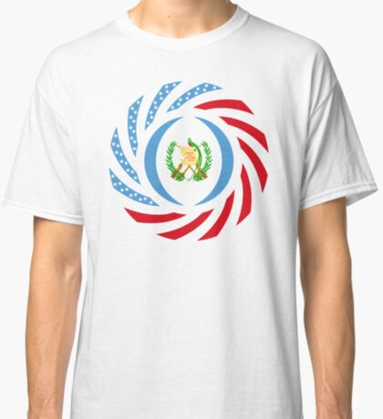 Guatemalan American Multinational Patriot Flag Series Classic T-Shirt
