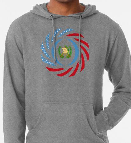 Guatemalan American Multinational Patriot Flag Series Lightweight Hoodie