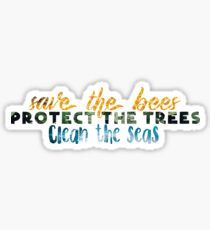 Rette den Planeten Sticker