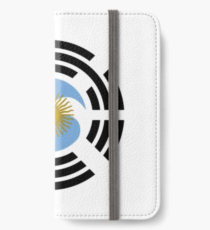 Korea Argentinian Multinational Patriot Flag Series iPhone Wallet