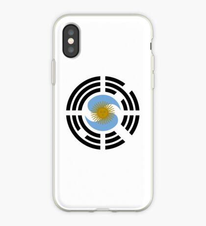 Korea Argentinian Multinational Patriot Flag Series iPhone Case