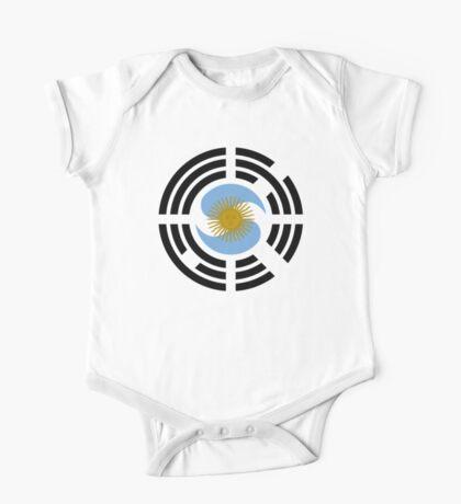 Korea Argentinian Multinational Patriot Flag Series Kids Clothes