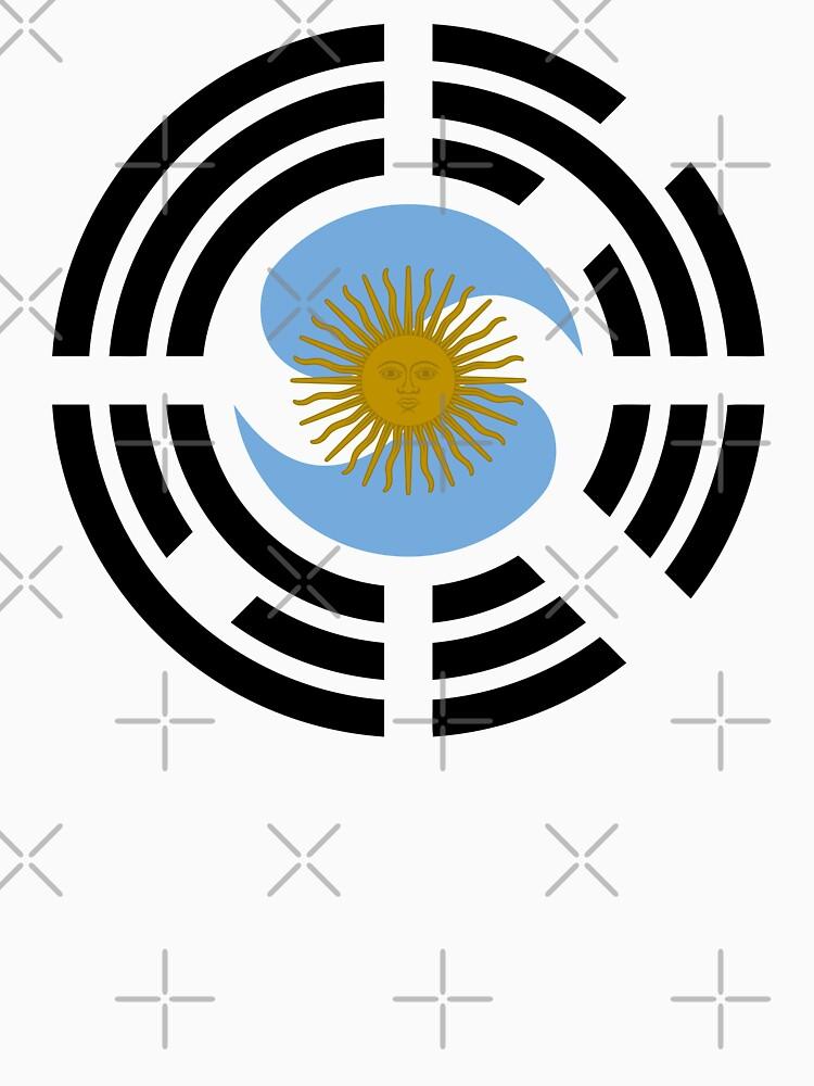 Korea Argentinian Multinational Patriot Flag Series by carbonfibreme