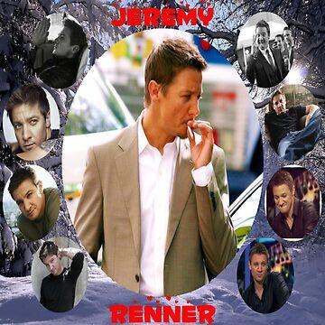 Jeremy Renner Collage 1 by killian8921