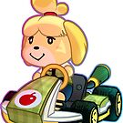 Isabelle / Mario Kart 8 by Elisecv