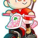 Villager / Mario Kart 8 by Elisecv