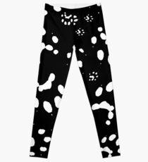 Ferret Paw prints Leggings