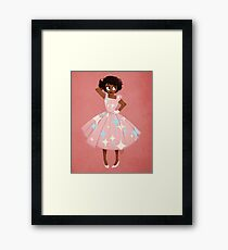 Girl of Fantasy Framed Print