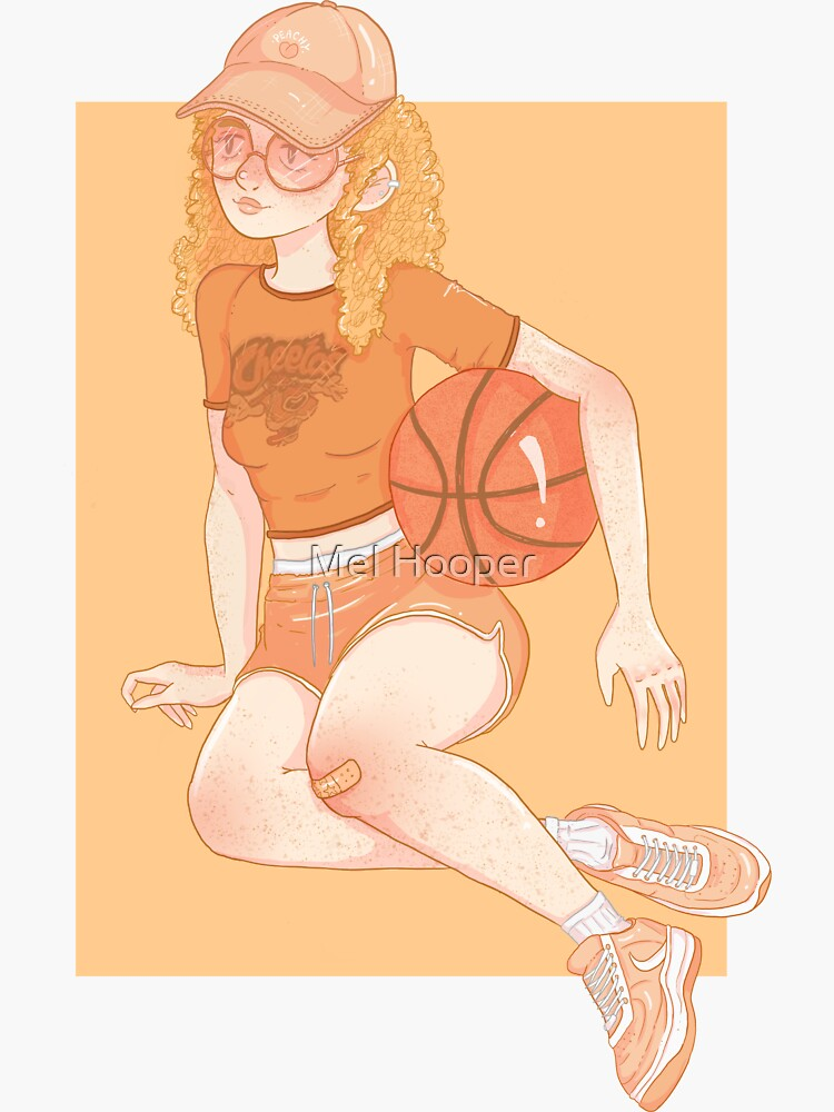 Basketball by CartoonGirl