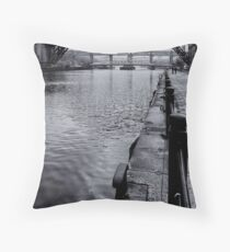 A land of coal and steel Throw Pillow